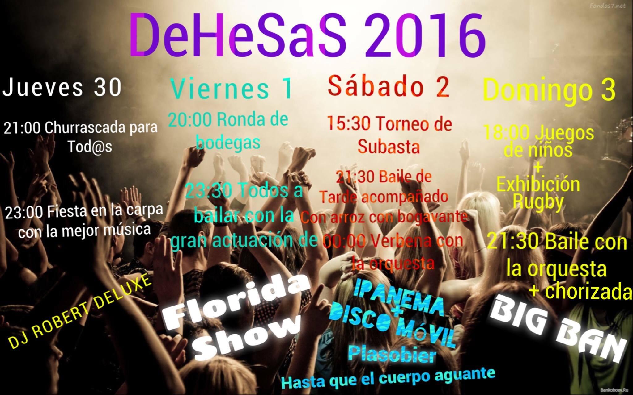 Fiestas en Dehesas 1