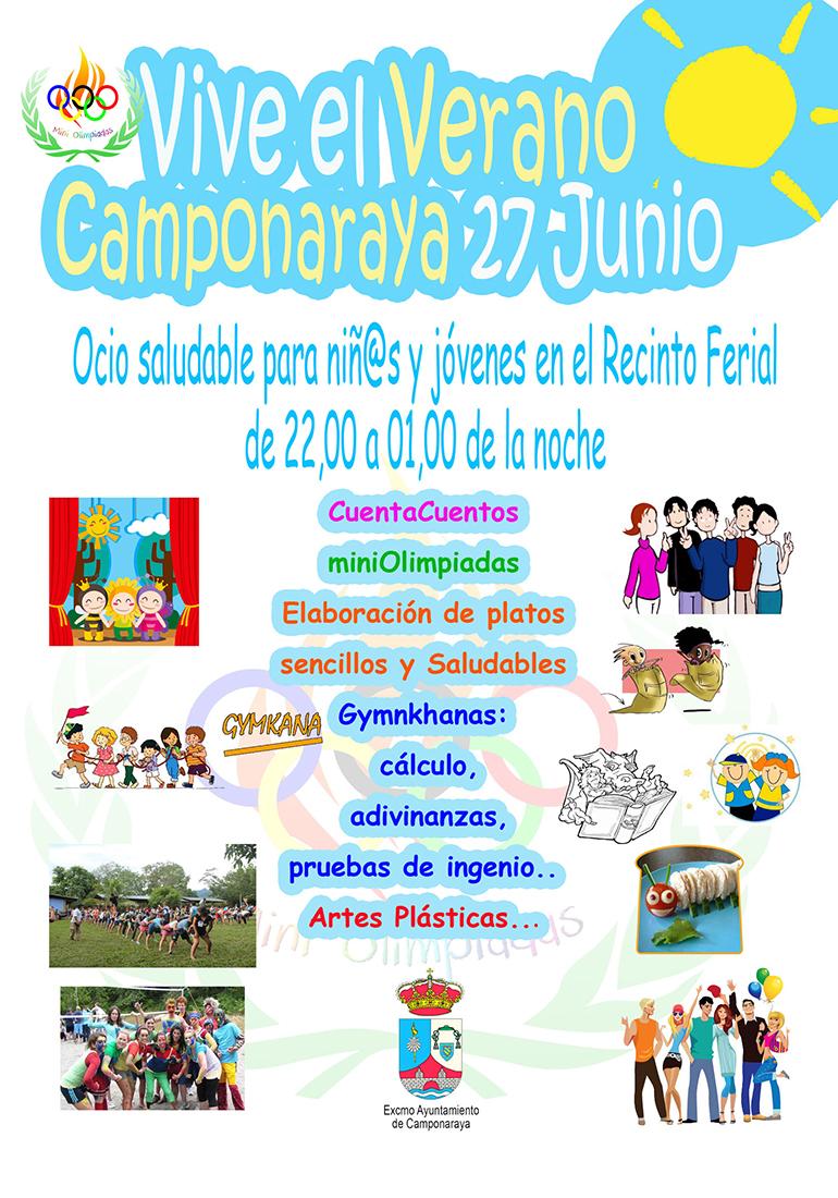 La fiesta 'Vive el Verano' se celebra el lunes en Camponaraya 1