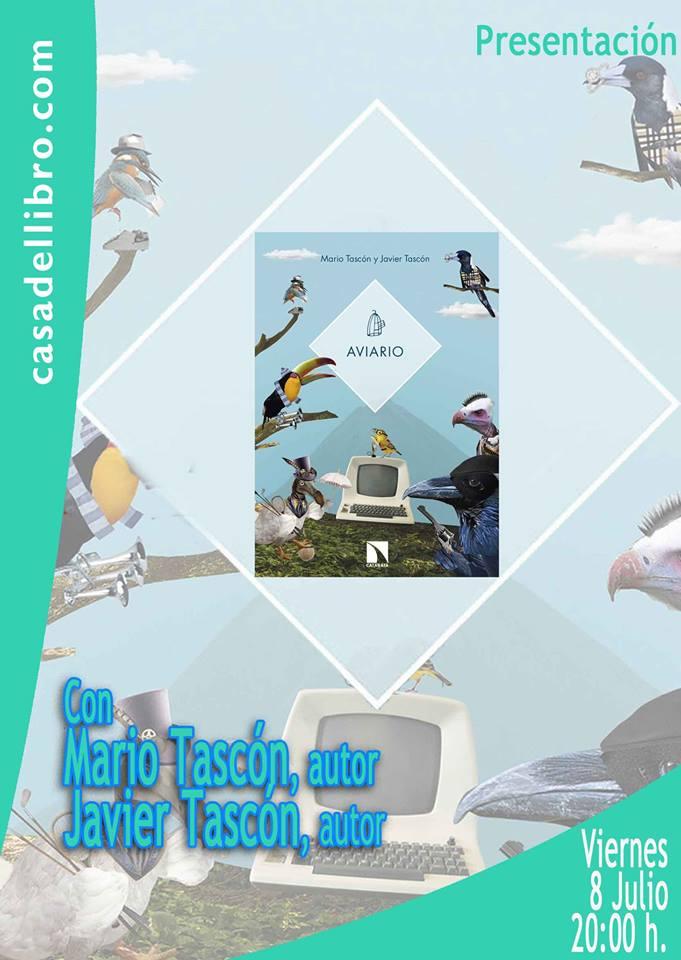 Presentación del libro 'Aviario' en La Casa del Libro 1