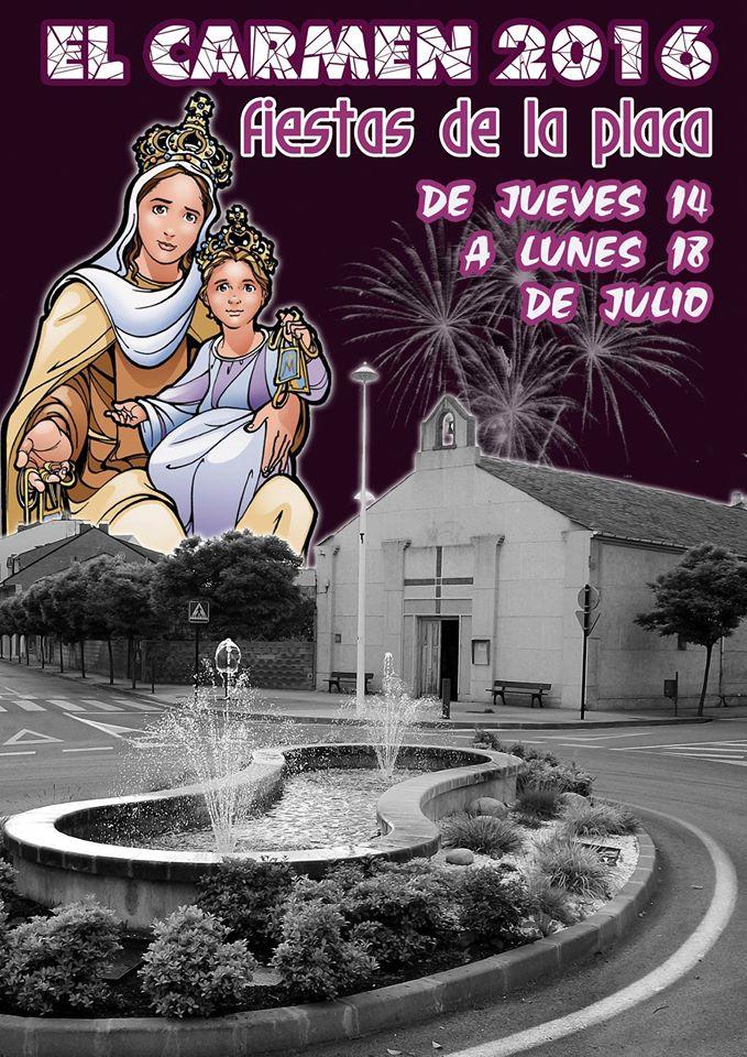 Fiestas del Carmen en el barrio de La Placa 1
