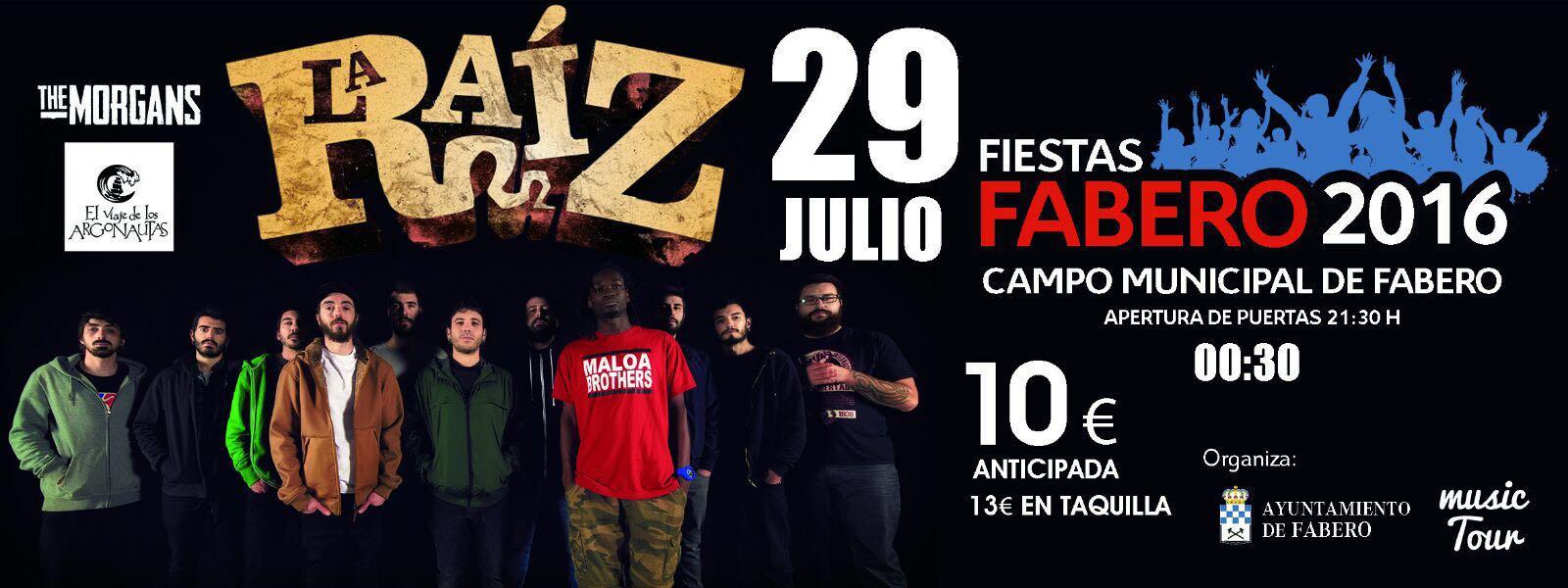 La banda de Rock 'La Raíz' tocará en Fabero el 29 de julio 1