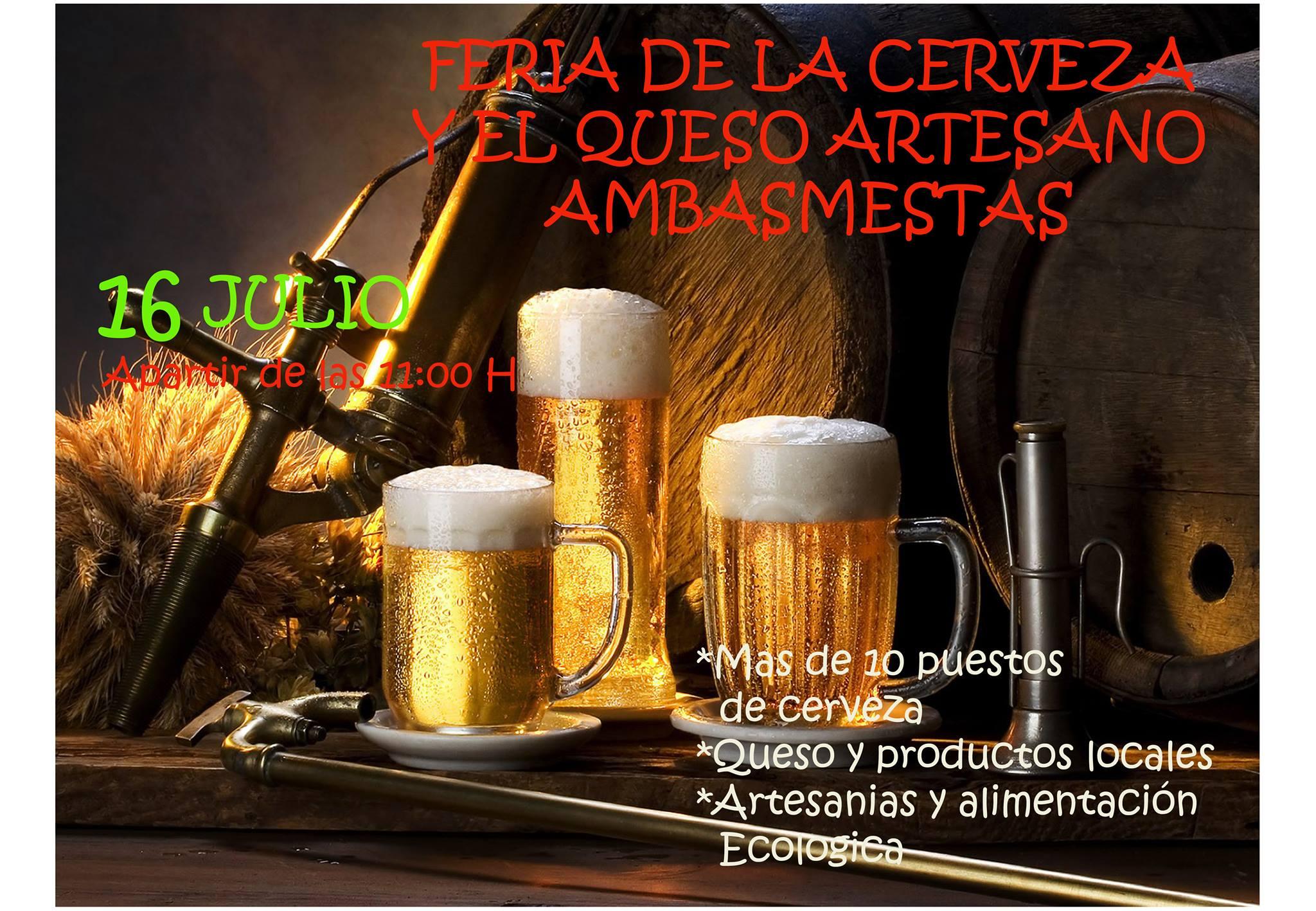 Feria De Cerveza Artesana Y Queso en Ambasmestas 1