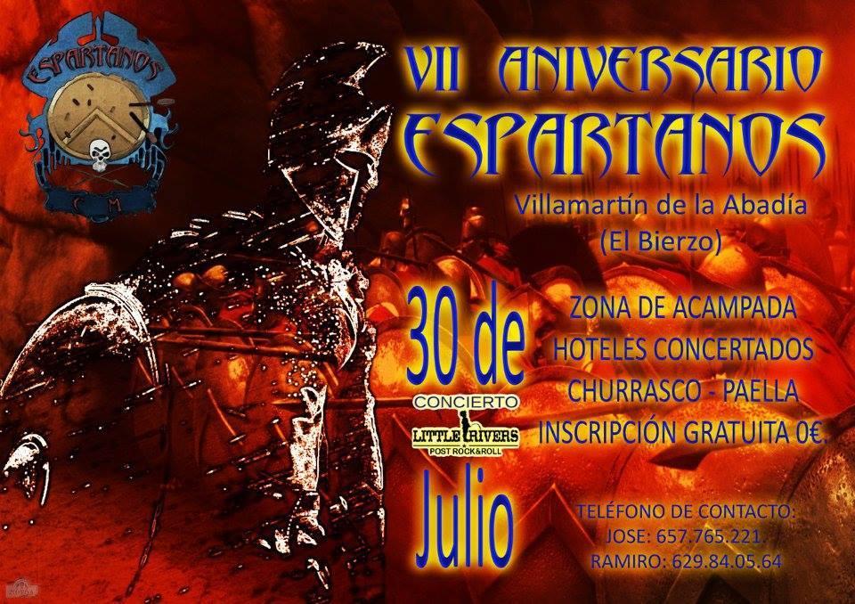 La asociación motera Espartanos' celebra con una fiesta su séptimo aniversario 1