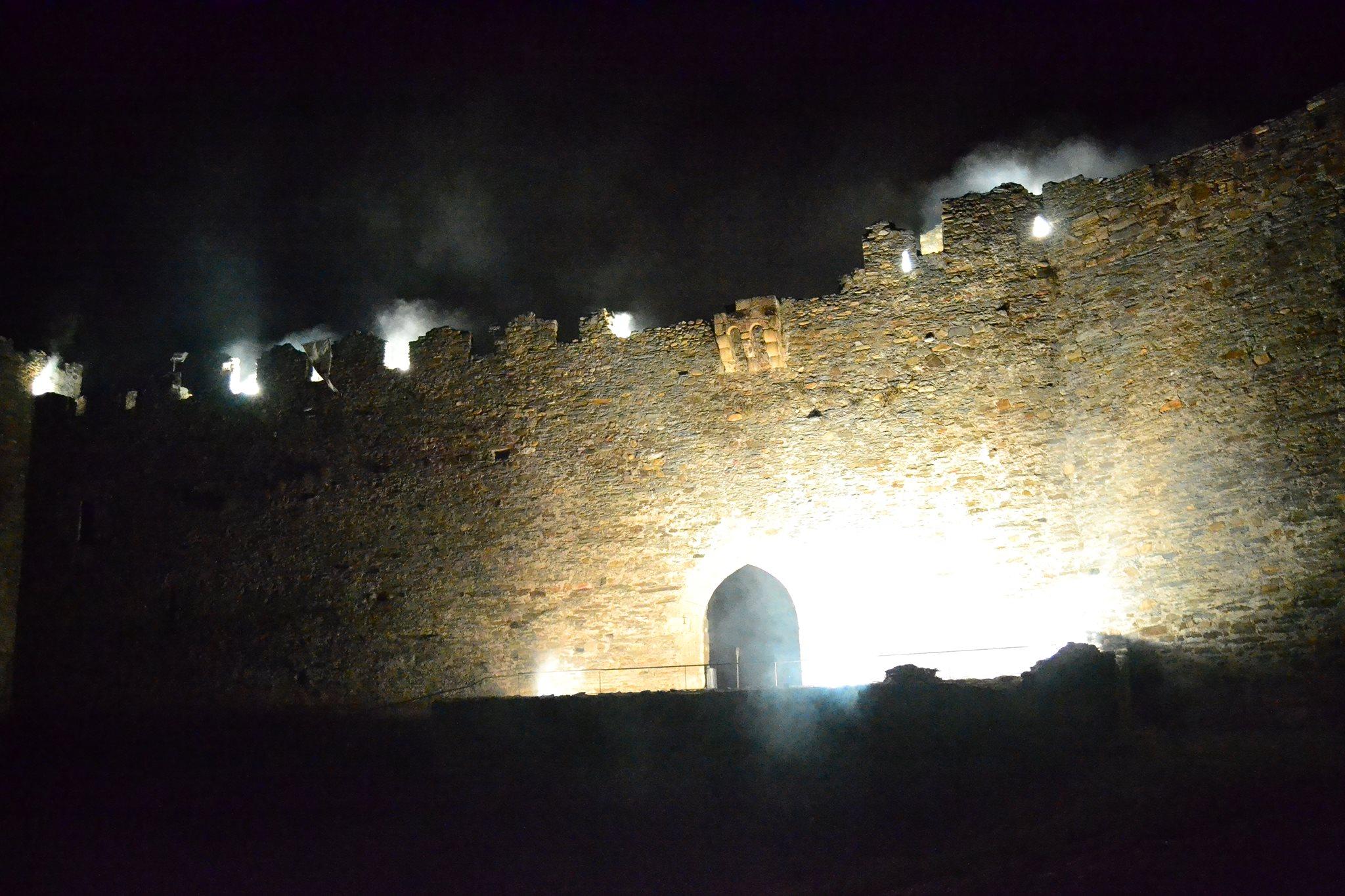 Vuelven las Visitas Teatralizadas Nocturnas al castillo de Ponferrada 1