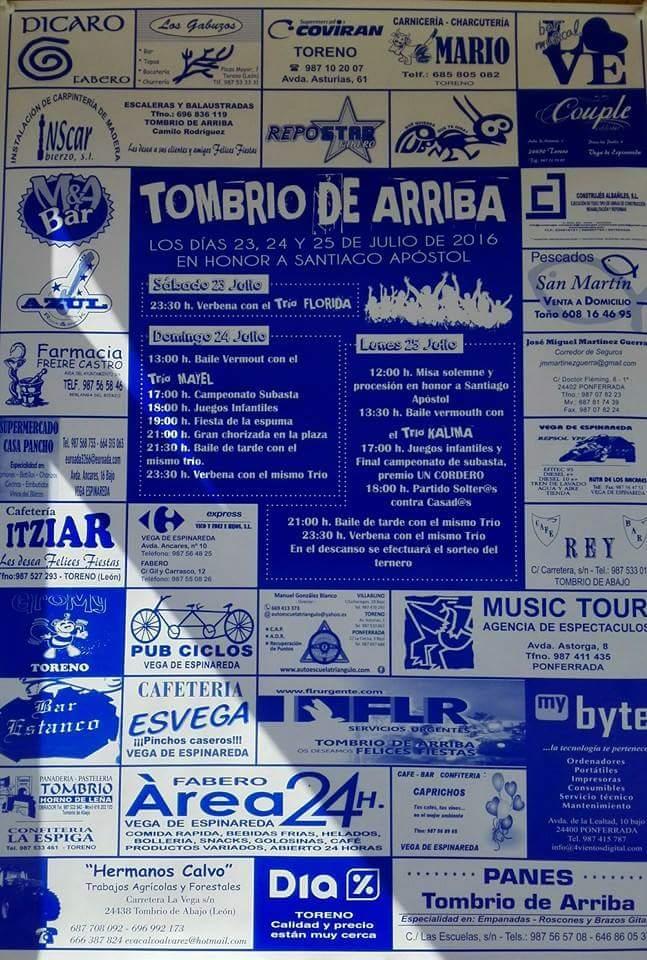 Fiestas en Tombrio de Arriba 1