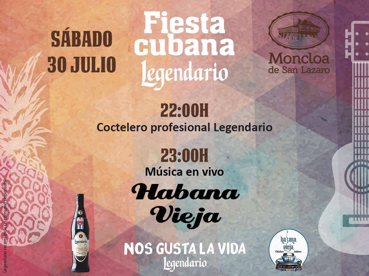 Fiesta cubana en La Moncloa de San Lázaro 1