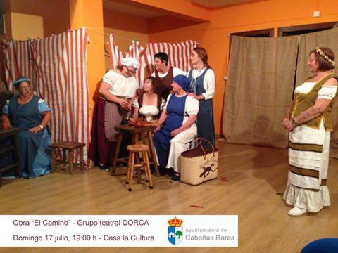 Teatro en Cabañas Raras el domingo 17 de julio 1