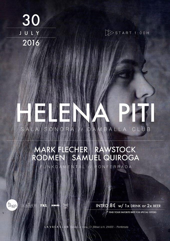Helena Piti (Sala Sonora/ Damballa Club) + Mark Flecher, Rawstock, Rodmen & Samuel Quiroga 1