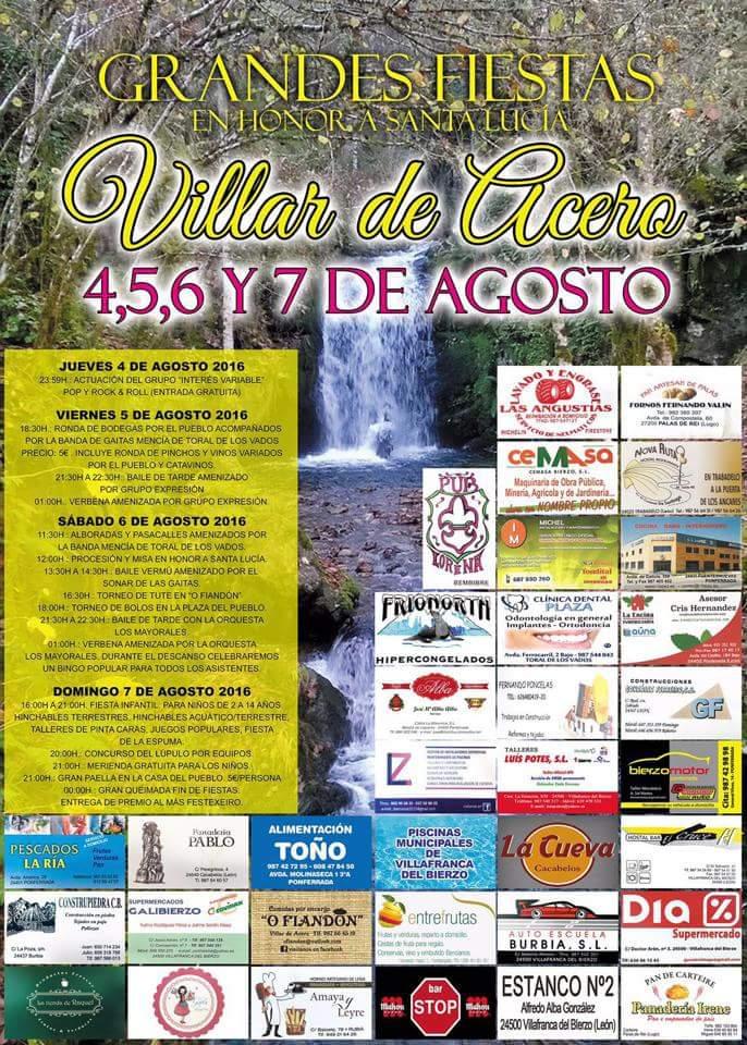 Fiestas en Villar de Acero 1