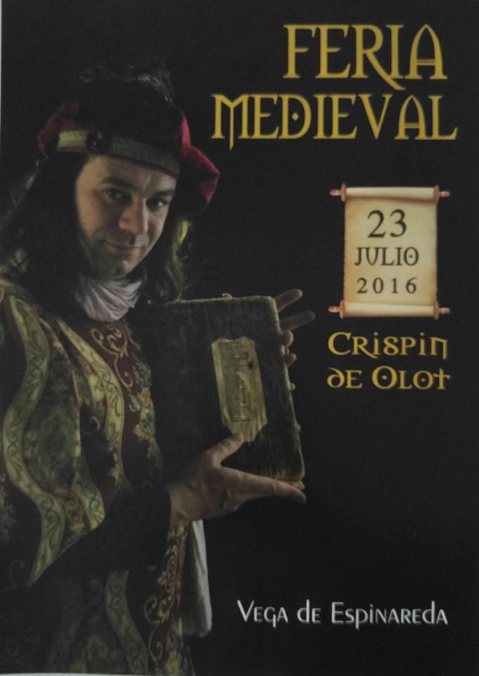 Fiesta medieval en Vega de Espinareda el sábado 23 de julio 1
