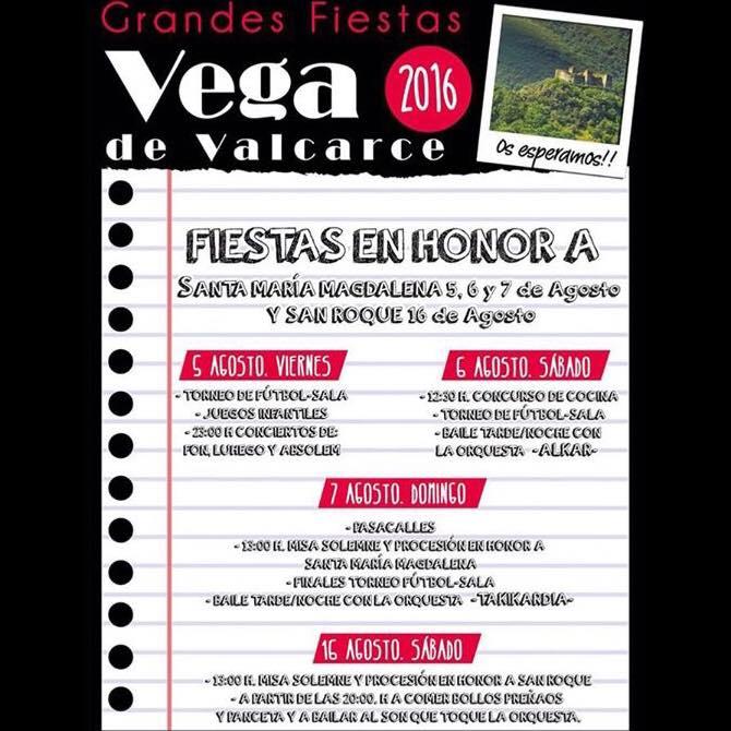 Fiestas en Vega de Valcarce 1
