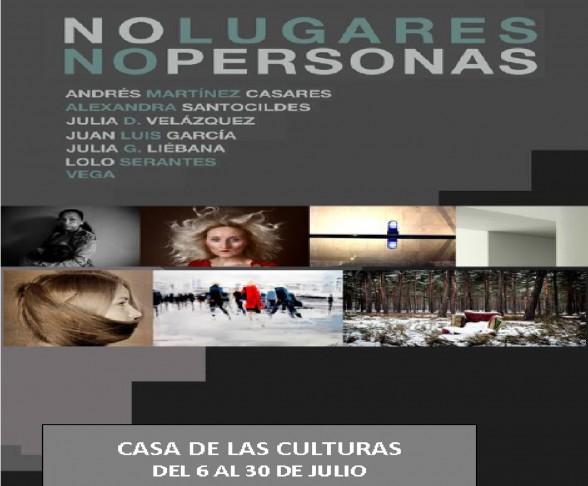"""Exposición """"No lugares.No personas"""" 1"""