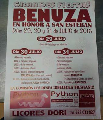 Fiestas en Benuza 1