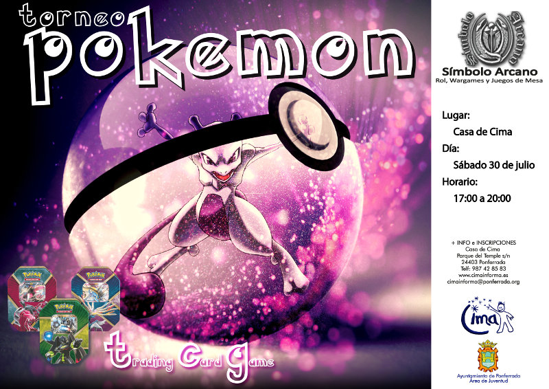 Ponferrada se une a la fiebre Pokemon con el Torneo Pokemon