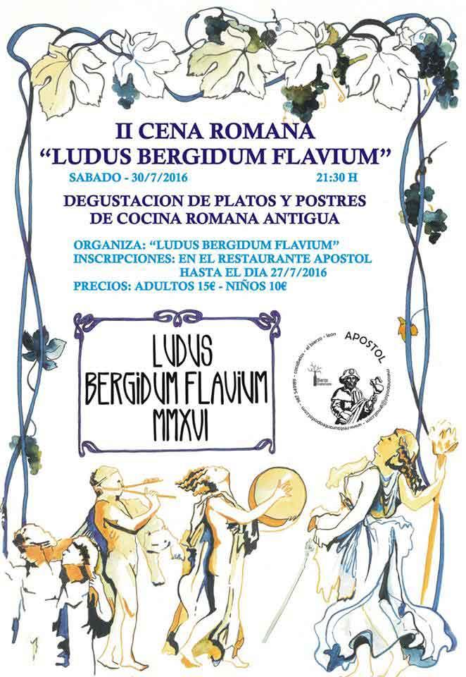 II cena romana 'Ludus Bergidum Flavium' 1