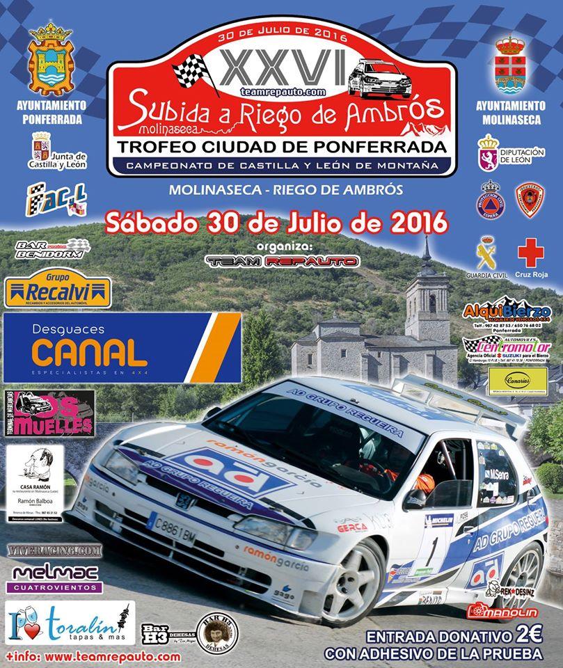 XXVI Subida a Riego de Ambrós, Trofeo ciudad de Ponferrada 1