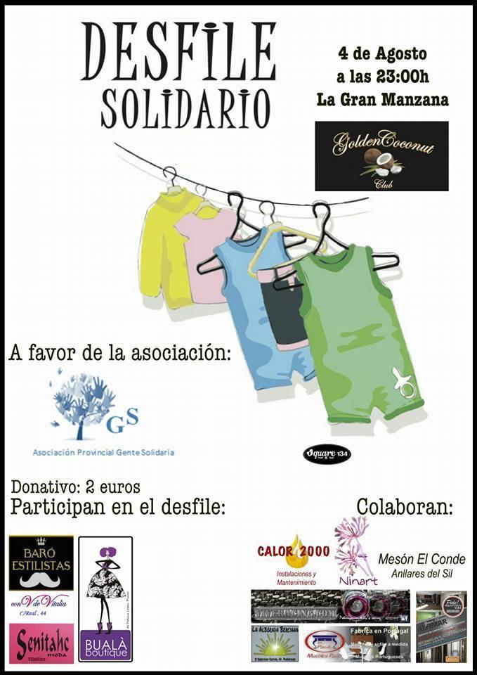 Desfile solidario en Ponferrada - Jueves 4 de agosto. 1
