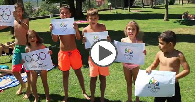 El vídeo viral que han hecho los vecinos de Sabina Asenjo para desearle suerte 1