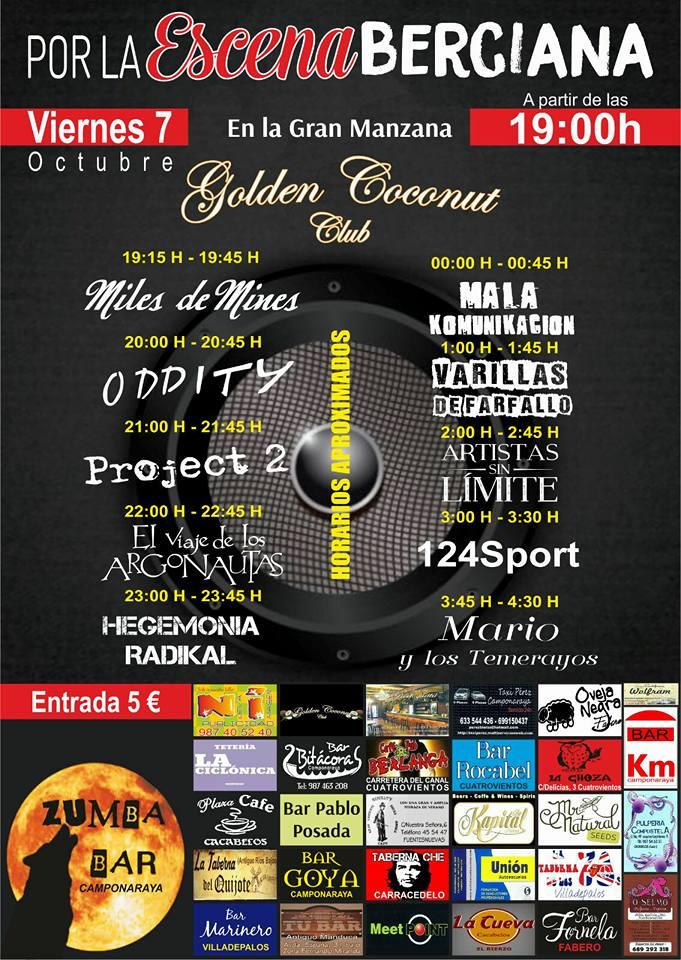 Las bandas bercianas reivindicarán su espacio en la escena musical el 7 de octubre en un macroconcierto 1