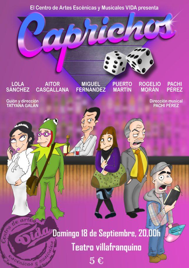 La comedia musical 'Caprichos' llega a Villafranca el domingo 18 de septiembre 1