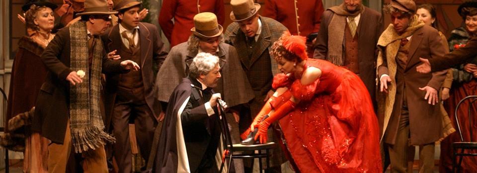 Llega al Bergidum, La bohéme, de Giacomo Puccini 1