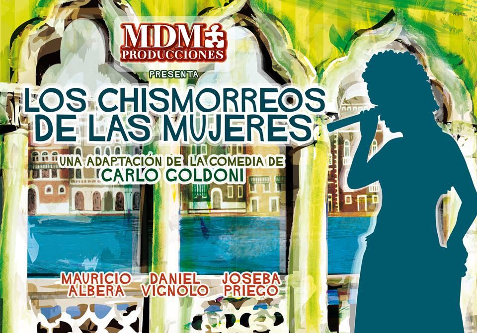 La obra de teatro: 'Los chismorreos de las mujeres', este sábado en Cubillos 1