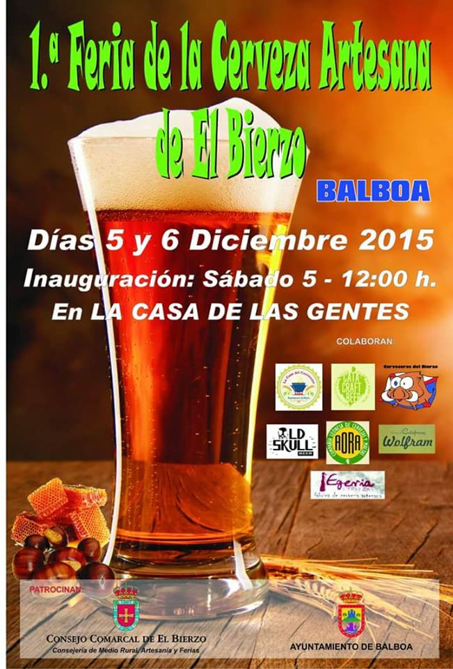 Balboa presenta su 1ª Feria de la cerveza artesana del Bierzo 1