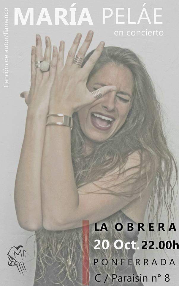 María Peláe, canción flamenca en La Obrera 1