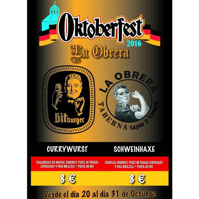 Oktoberfest en La Obrera con cerveza y comida alemana 1