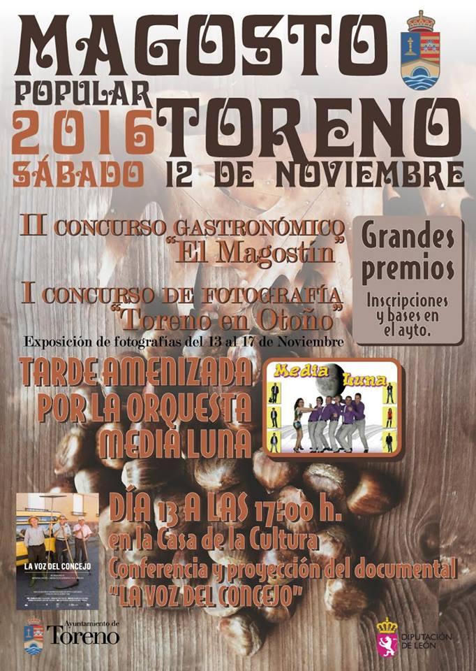 Magosto popular en Toreno. 12 de noviembre 1