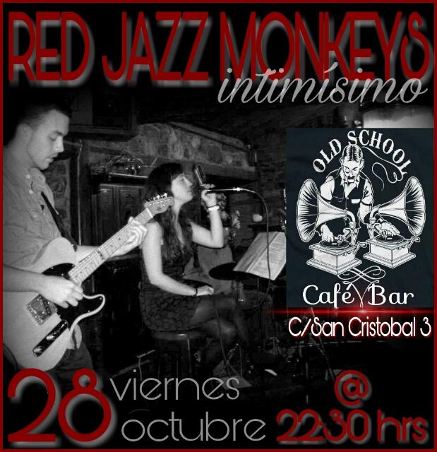 Red Jazz Monkeys en concierto. Viernes 28 de octubre 1