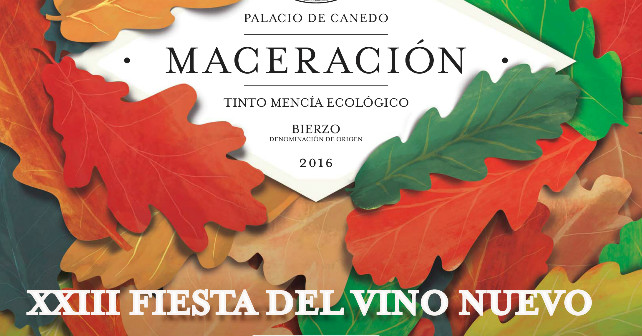 Fiesta del vino maceración de Prada a Tope en el Palacio de Canedo 1