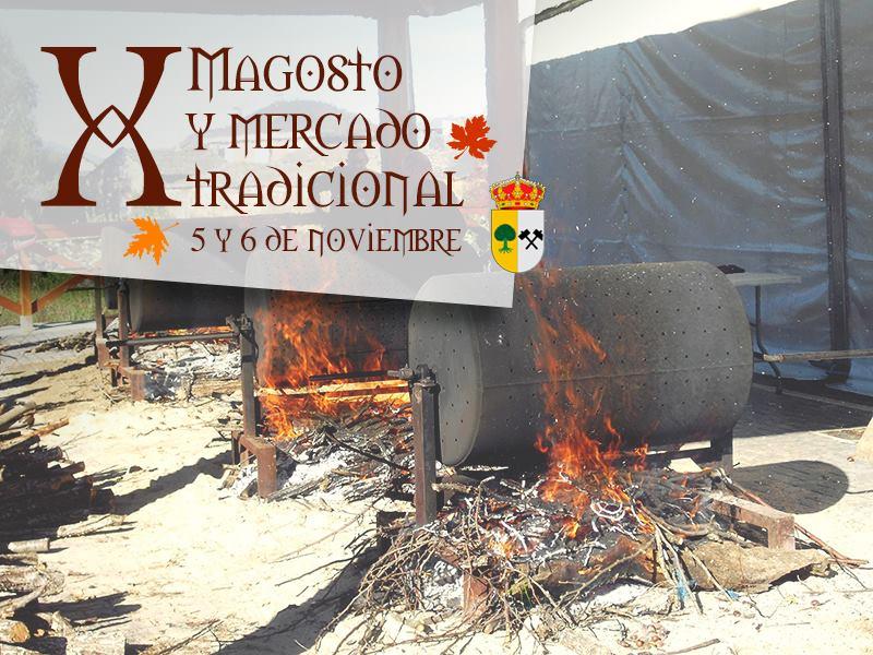 X Magosto y mercado tradicional de Páramo del Sil. 5 y 6 de noviembre 1
