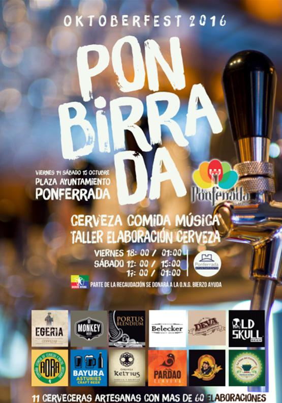 Ponferrada se monta su propio Oktoberfest: PONBIRRADA 1