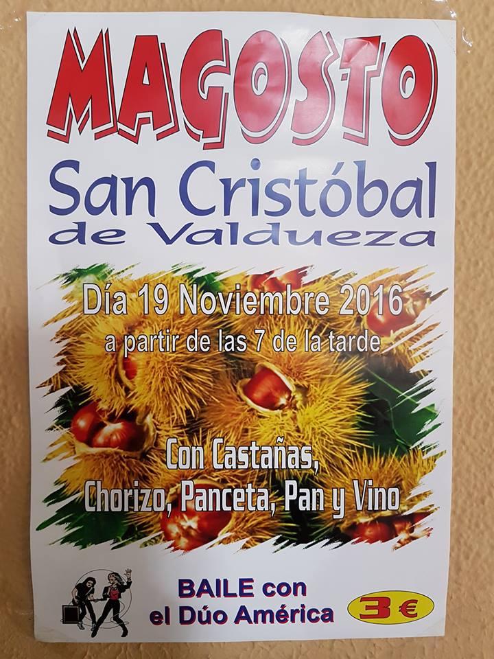 Magosto en San Cristobal de Valdueza 1