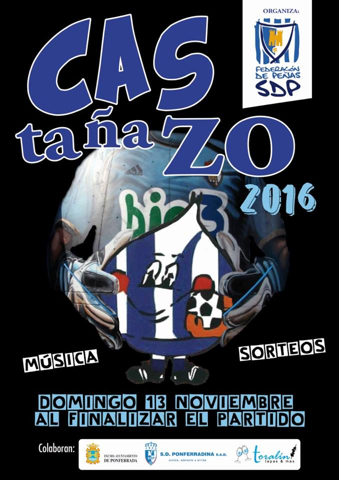 Magosto de las peñas de la SD Ponferradina. Domingo 13 de noviembre 1