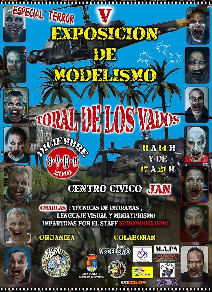V Exposición de modelismo de Toral de los Vados con acento en el terror 1