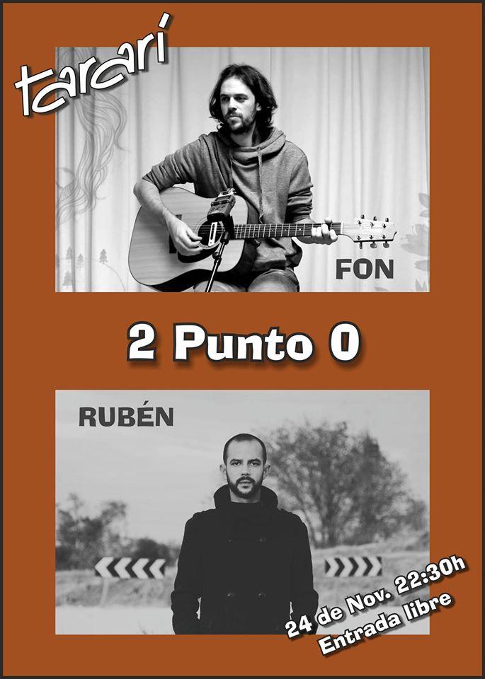 2 punto 0: RUBÉN Artabe y FON en concierto acústico 1