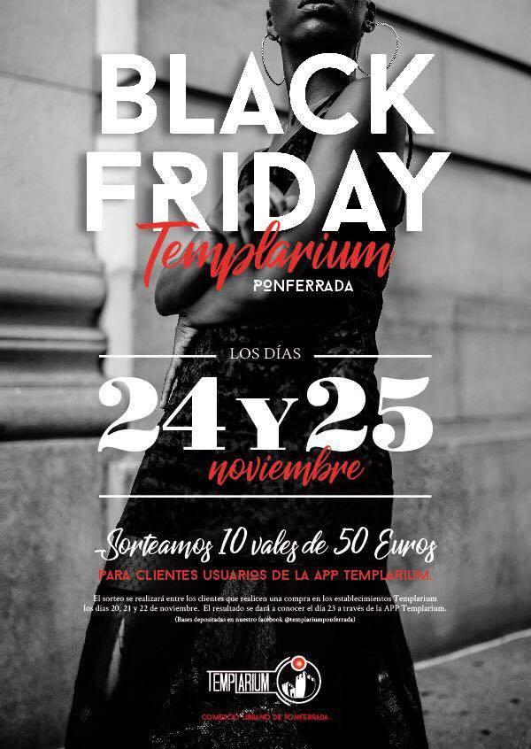 Templarium sorteará vales de 50 Euros para gastar durante el Black Friday 2017 1