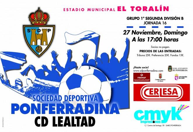 Fútbol: SD Ponferradina - CD Lealtad 9