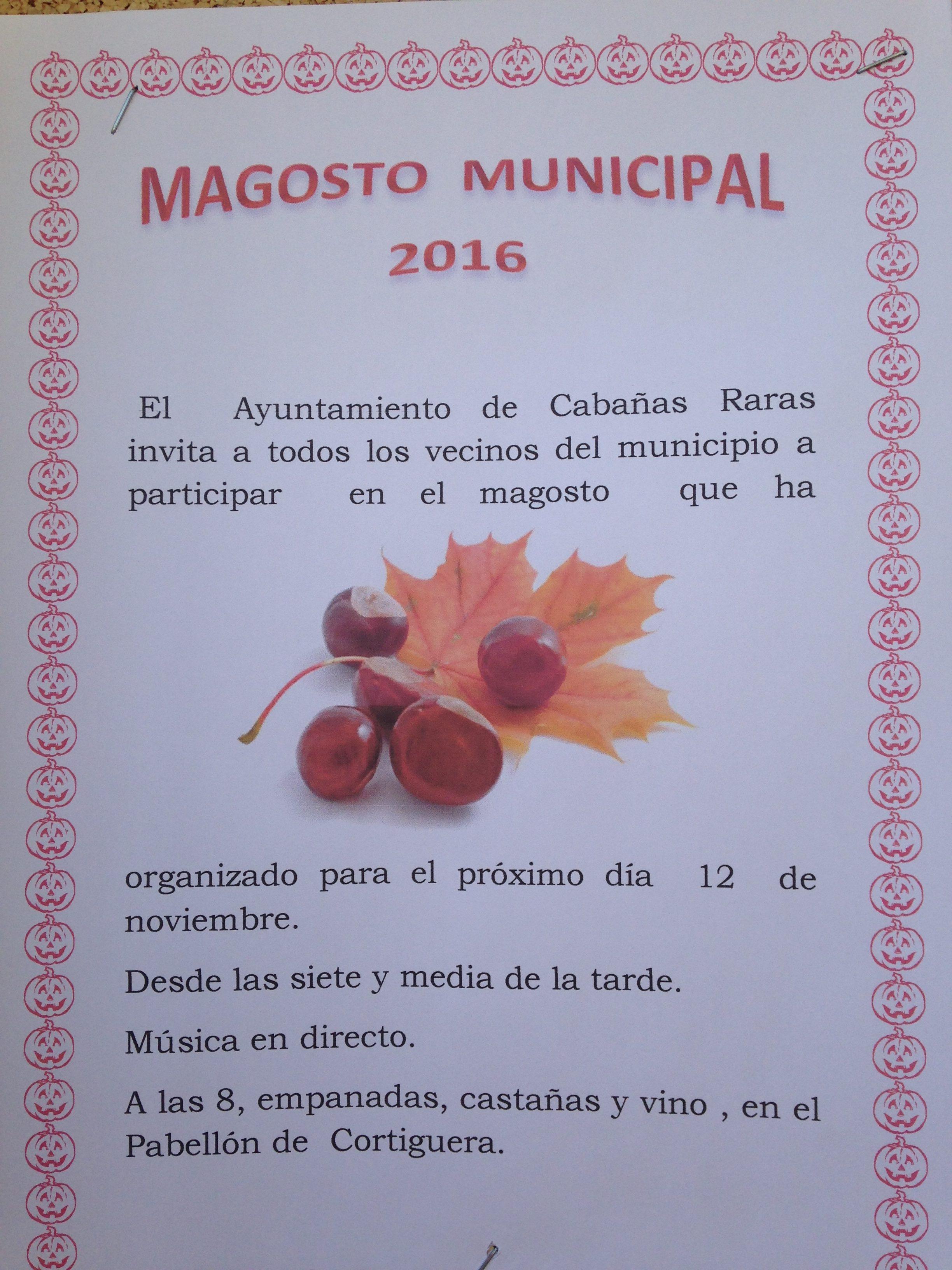 Magosto en Cortiguera. 12 de Noviembre 1