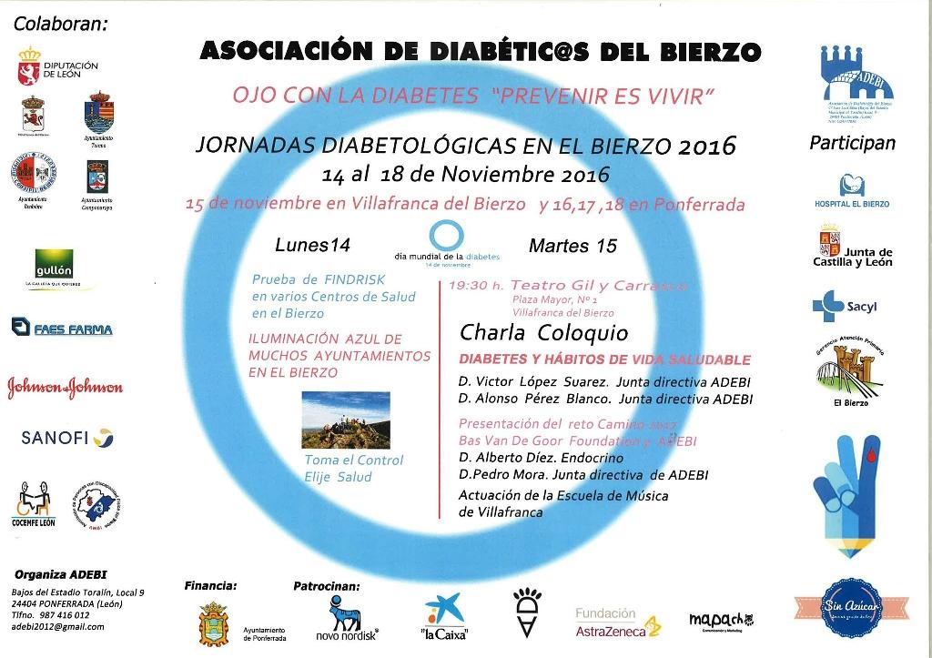 Jornadas Diabetológicas en Villafranca del Bierzo 1