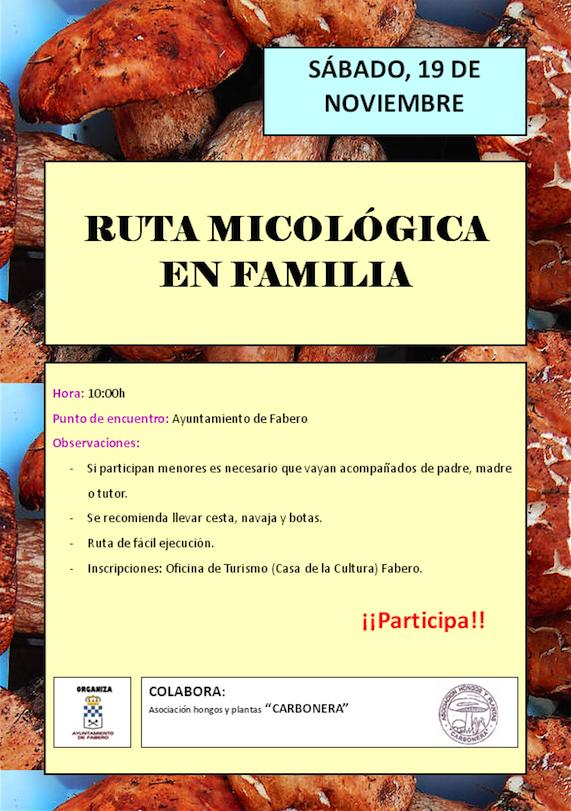 Fabero organiza una ruta micológica familiar para el fin de semana 1