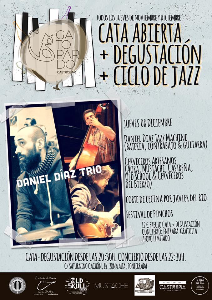 Cata abierta + Degustación + Jazz 1