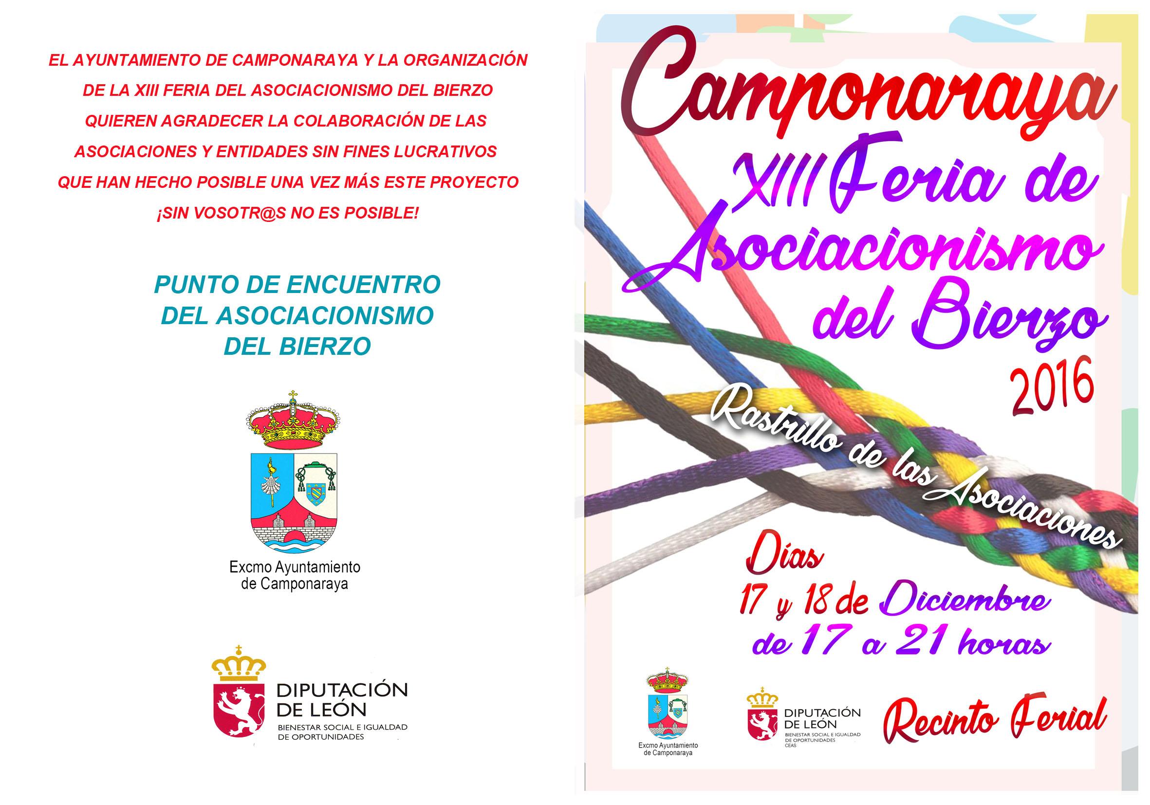 XIII Feria del Asociacionismo, este fin de semana en Camponaraya 1