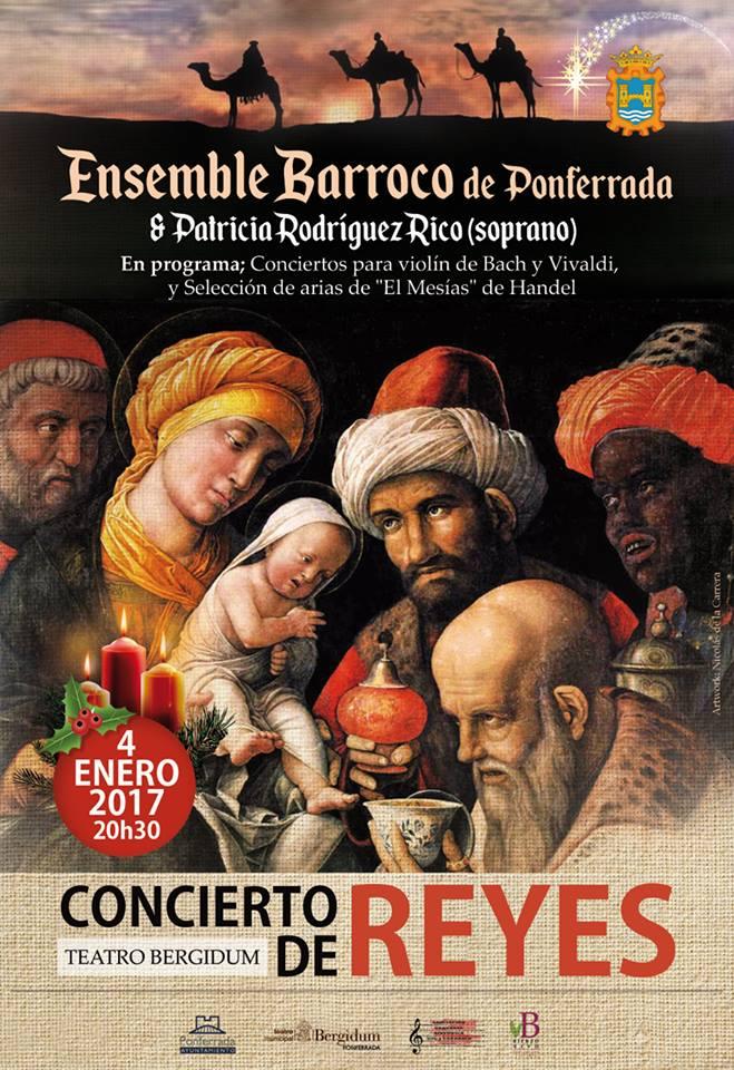 Concierto de Reyes con los bercianos Ensemble Barroco 1
