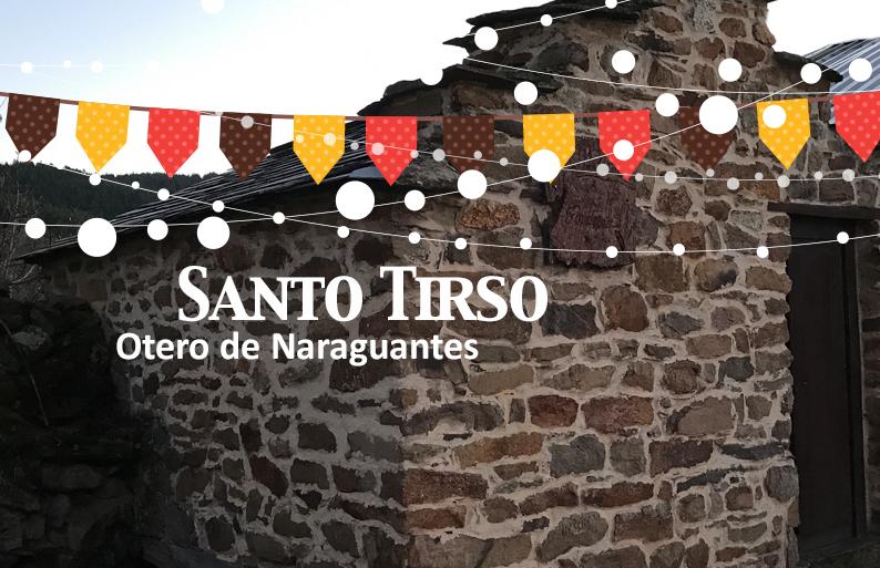 Fiestas de Sto Tirso en Otero de Naraguantes. 28 de Enero 1