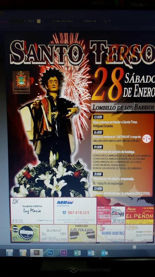 Grandes fiestas en honor a Santo Tirso en Lombillo 1