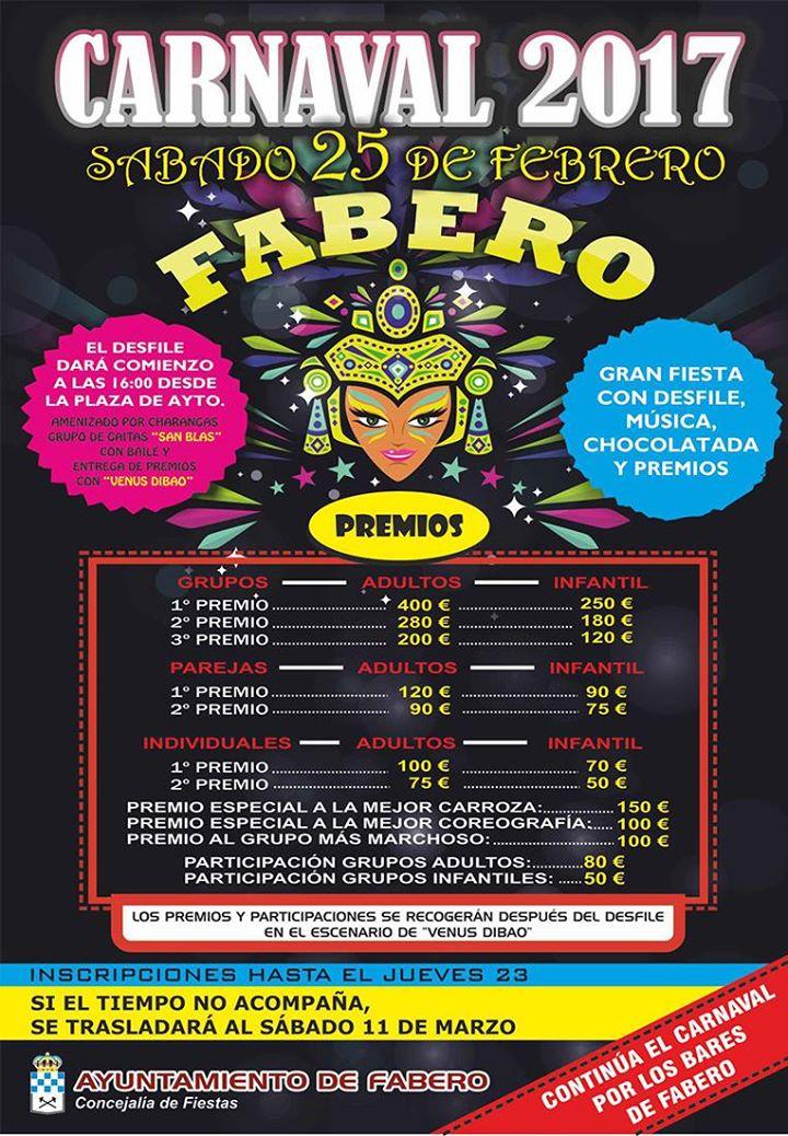 Carnaval 2017 en Fabero 1