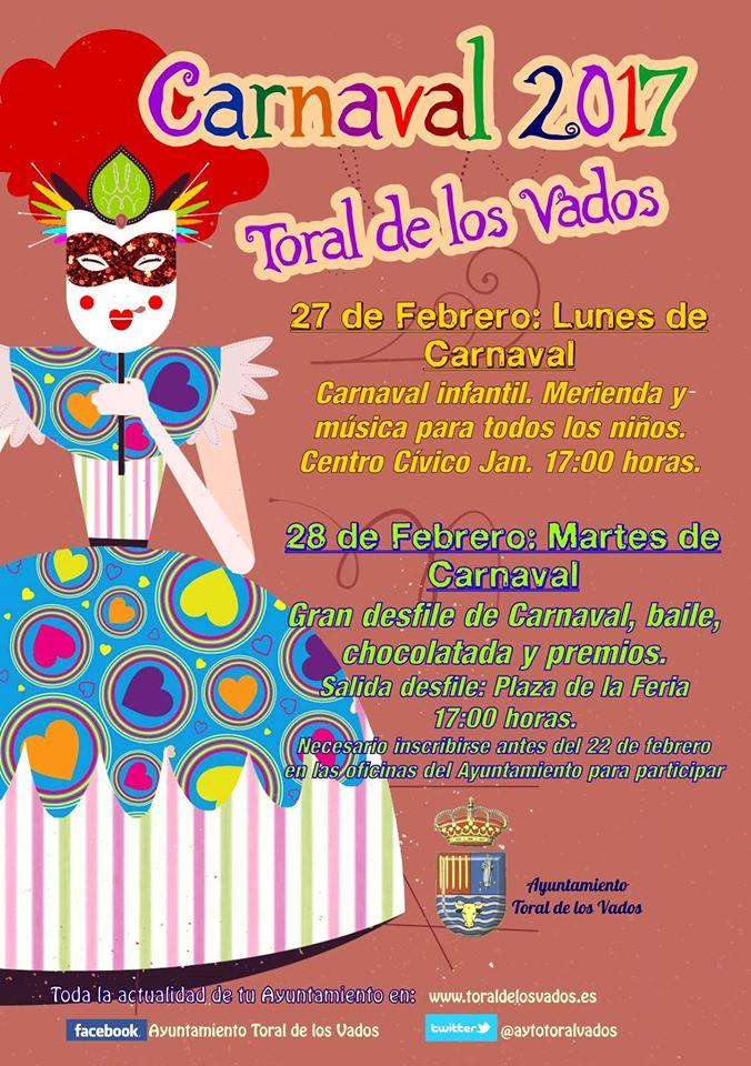 Carnaval 2017 en Toral de los Vados 1